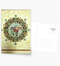 """The Tulip & The Bird"" Miniatures Postcards"