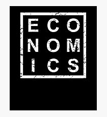 Stylish Economics Photographic Print