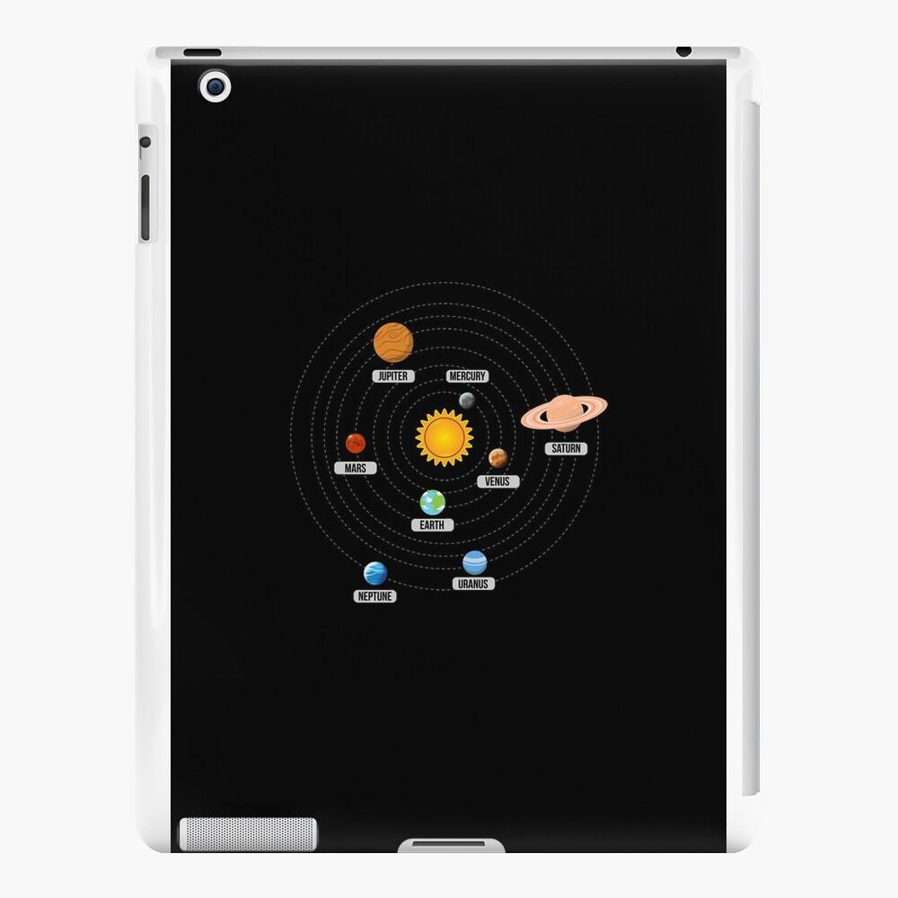 Planetas del arte del sistema solar Vinilos y fundas para iPad