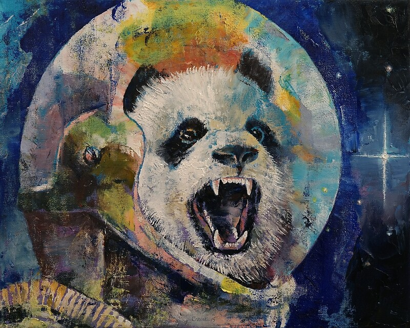 quotspace pandaquot photographic prints by michael creese
