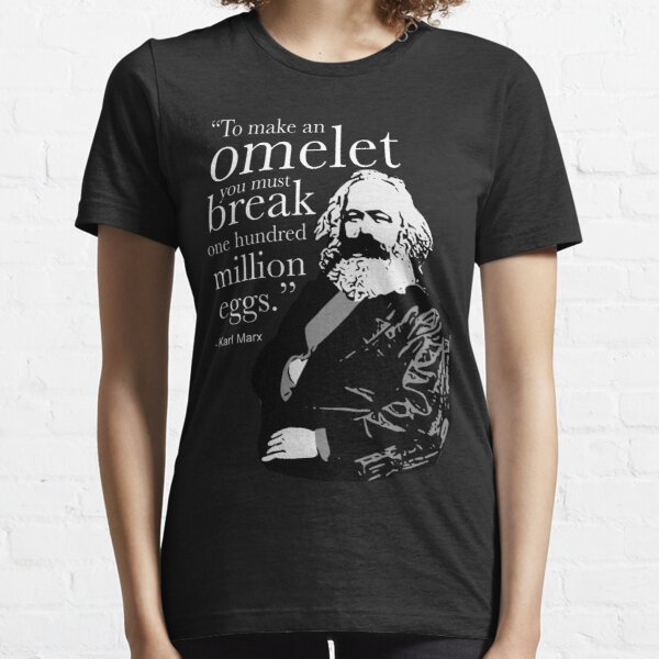 Karl Marx Omelet Essential T-Shirt