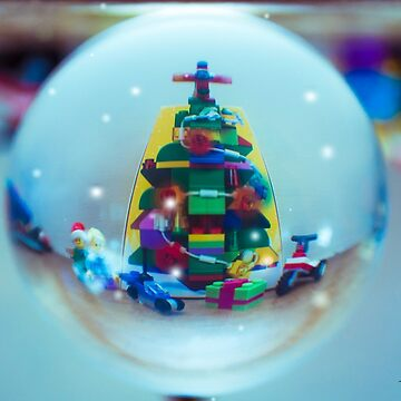 Lego Christmas Globe by racoon