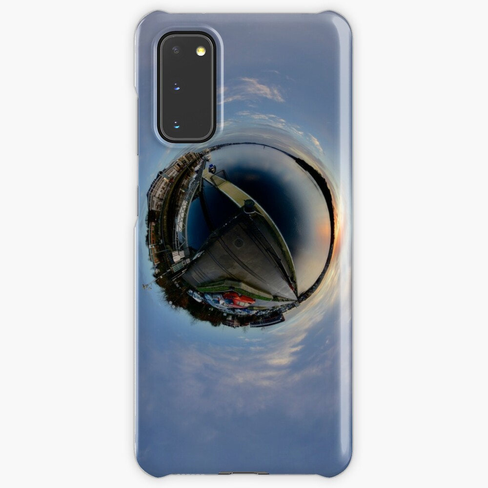 Foyle Marina at Dawn, Stereographic Case & Skin for Samsung Galaxy