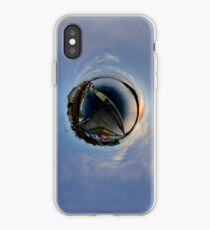 Foyle Marina at Dawn, Stereographic iPhone Case