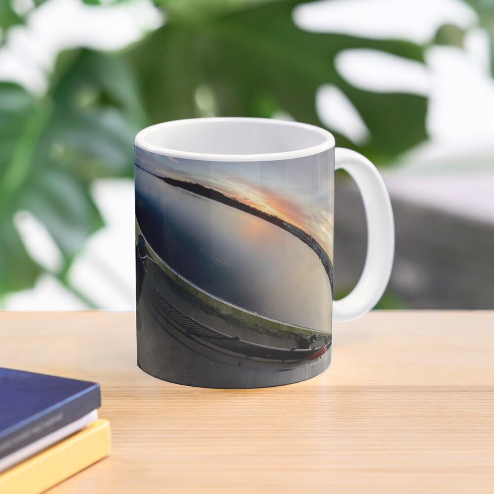 Foyle Marina at Dawn, Stereographic Mug