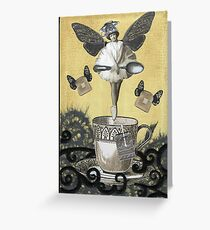 Tea Faerie Greeting Card