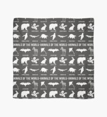 Simple Vintage Humor Funny Rare Animals of the World Scarf