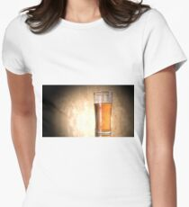 Cool beer glasses Women's Fitted T-Shirt