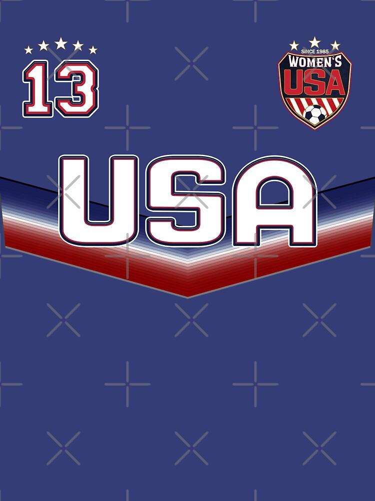 USA Soccer Female Team Nummer 13 von fermo