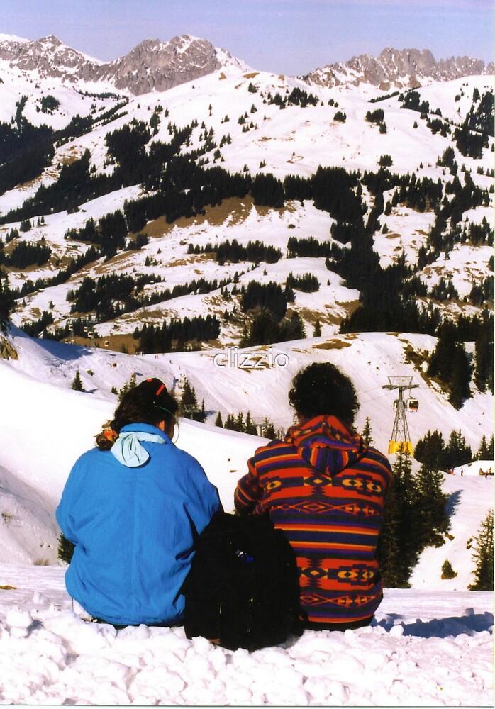 Swiss Alps by clizzio