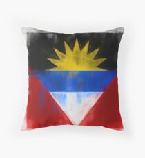 Antigua And Barbuda Flag Reworked No. 2, Series 1 Kissen