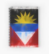 Antigua And Barbuda Flag Reworked No. 2, Series 1 Spiralblock