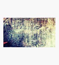 The Graffiti Message Wall Photographic Print