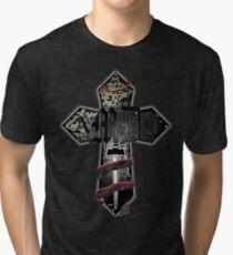 AMDG cross Tri-blend T-Shirt