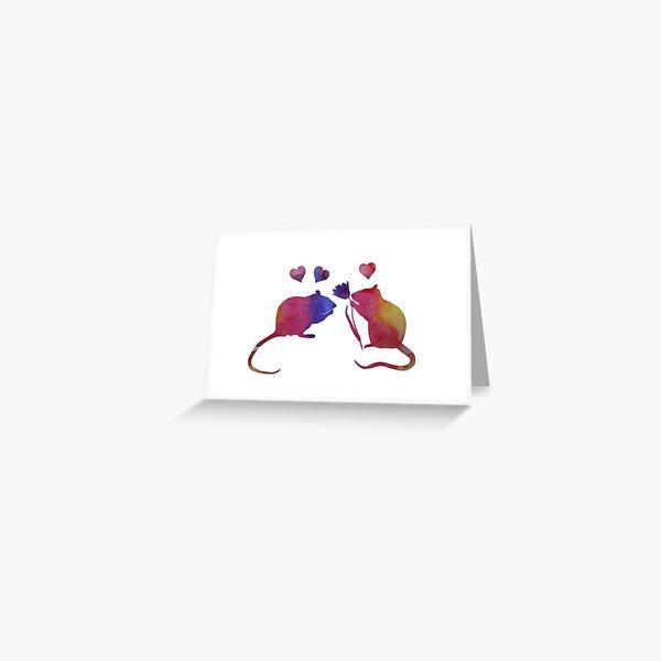Rats Greeting Card