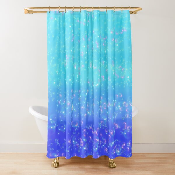 Whimsical Bubbles Shower Curtain