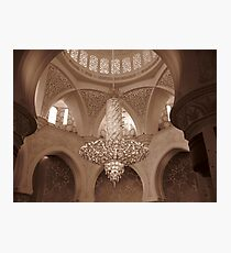 Sheikh Zayed Grand Mosque 2 Photographic Print