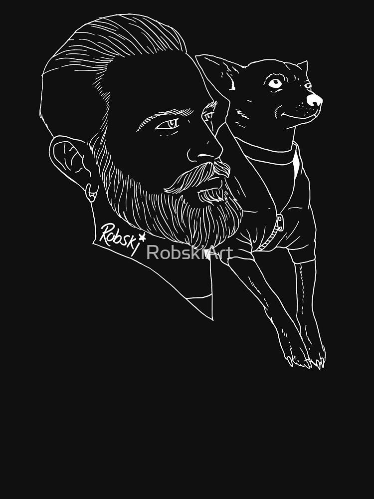 Parker & Adam by RobskiArt