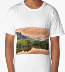Mountainscape with canebrake Long T-Shirt