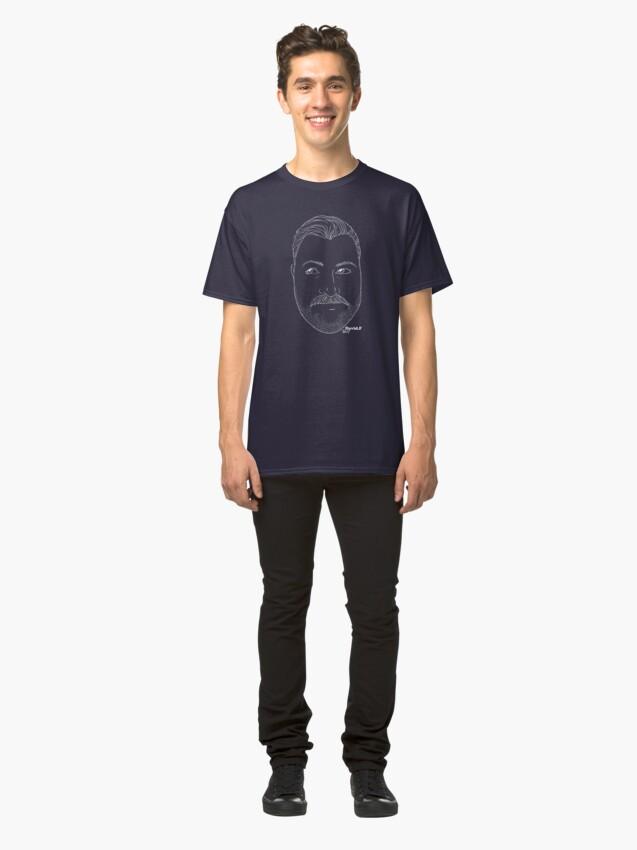 Alternate view of David.F Classic T-Shirt