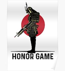 Honor Game - Airsoft Poster