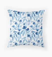 Prussian Floral Floor Pillow