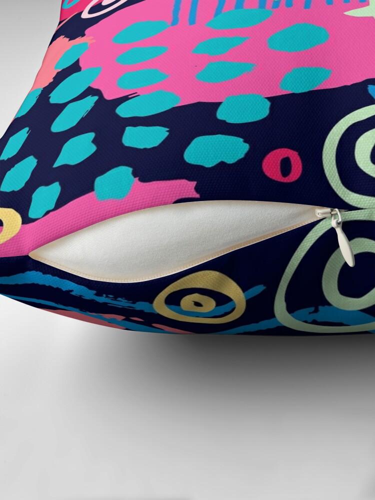 Alternate view of Trendy Abstract Art Pattern Floor Pillow