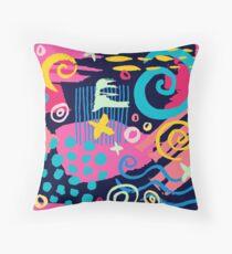 Trendy Abstract Art Pattern Floor Pillow