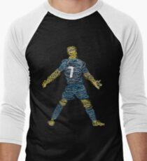 CR7 LOOPS DESIGN Men's Baseball ¾ T-Shirt