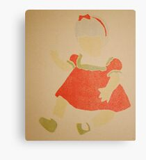 Doll- Red Dress Canvas Print