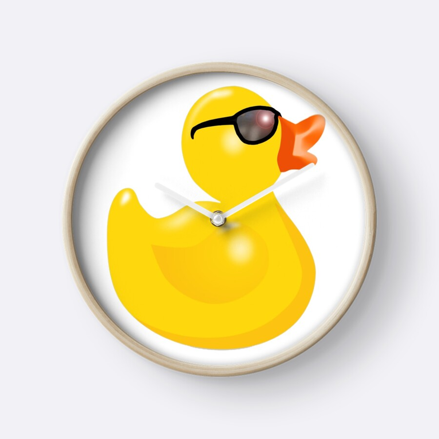 Rubber Duck with Sun Glasses, Rubber Duck, Yellow, Duck, Bath Duck ...