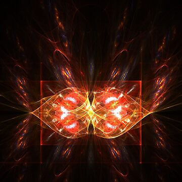 Abstract butterfly by cycreation