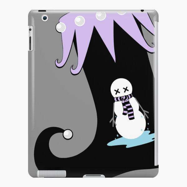Pastel Goth Christmas   Creepy Stocking   Dying Snowman iPad Snap Case
