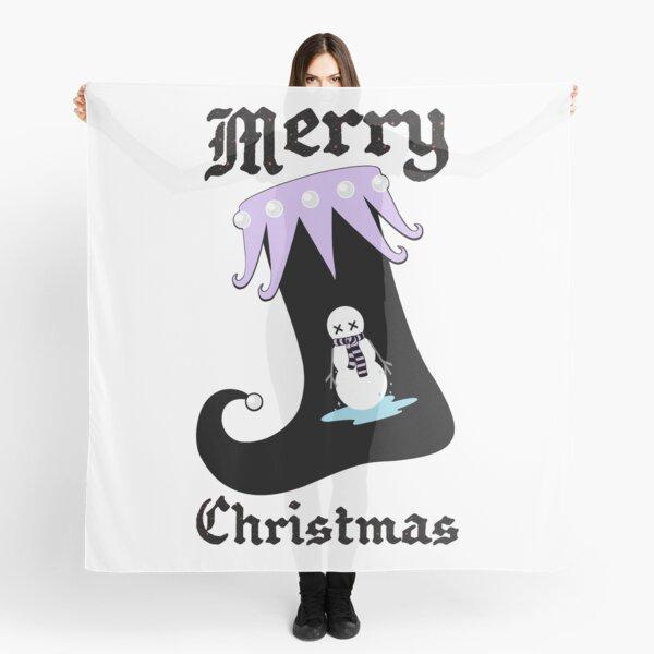 Pastel Goth Christmas | Creepy Stocking | Dying Snowman Scarf