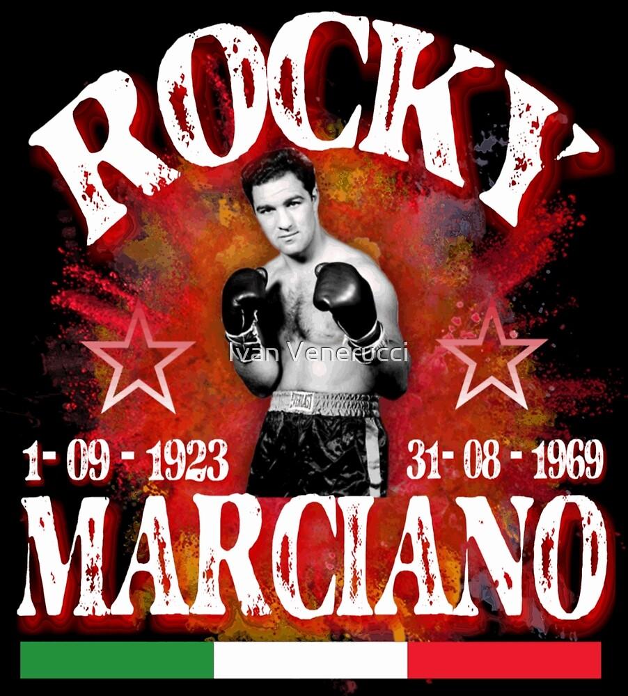 Rocky Marciano by Ivan Venerucci