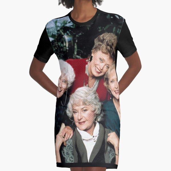 Golden Girls club Graphic T-Shirt Dress