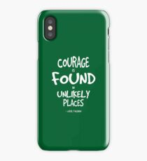 Where Courage is Found Quote - Tolkien iPhone Case/Skin