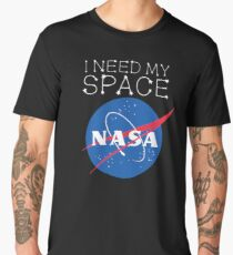 I need my space NASA LOGO OFFICIAL Men's Premium T-Shirt
