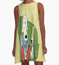 Rocko's Modern Life A-Line Dress