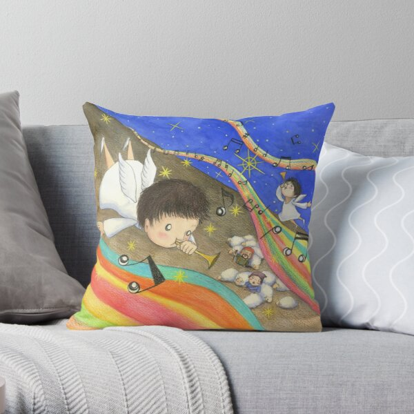 Good news Throw Pillow