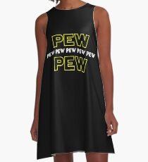 Pew Pew Pew etc A-Line Dress