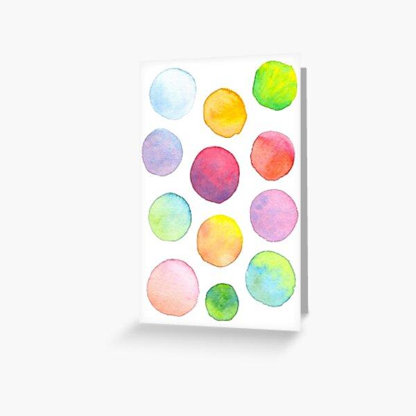 Blending Bubbles Greeting Card