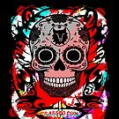 SKULL CULT RED CRASSCO by fuxart