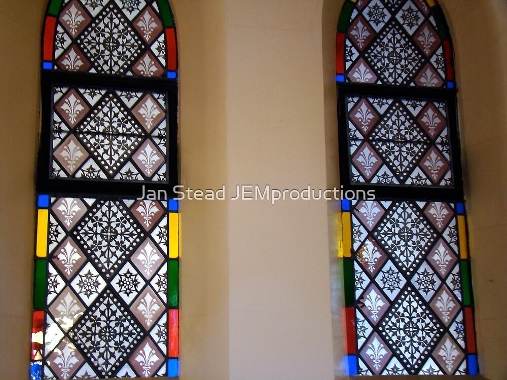 St John's original windows by Jan Stead JEMproductions