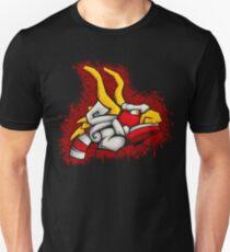 King of Red Lions Splatter Design T-Shirt