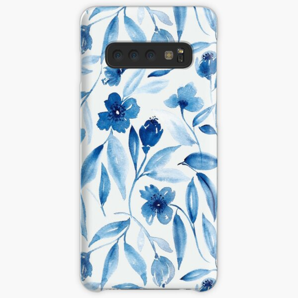 Prussian Floral Samsung Galaxy Snap Case