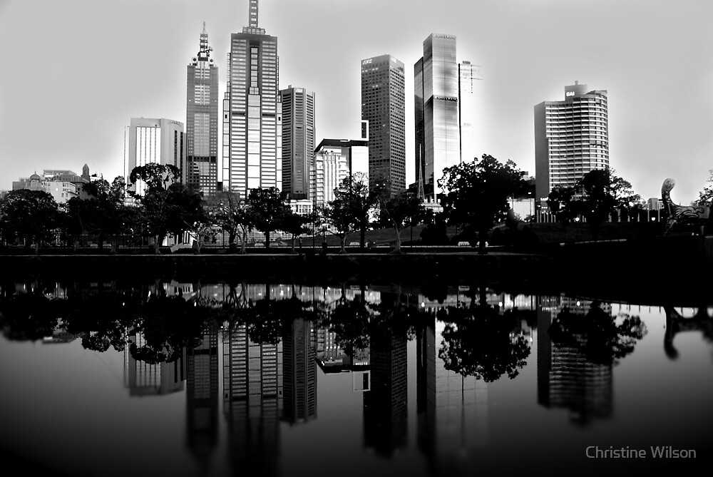 Still Life - Melbourne by Christine Wilson