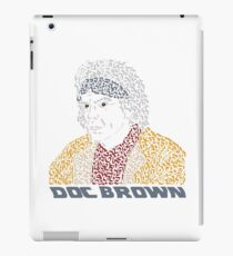 Doc Brown BTTF iPad Case/Skin