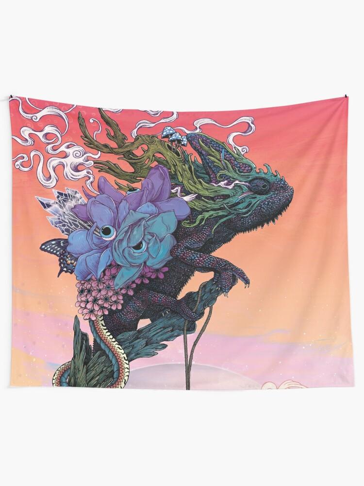 Alternate view of Phantasmagoria Tapestry
