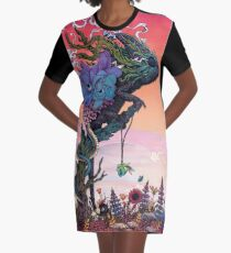 Phantasmagoria Graphic T-Shirt Dress